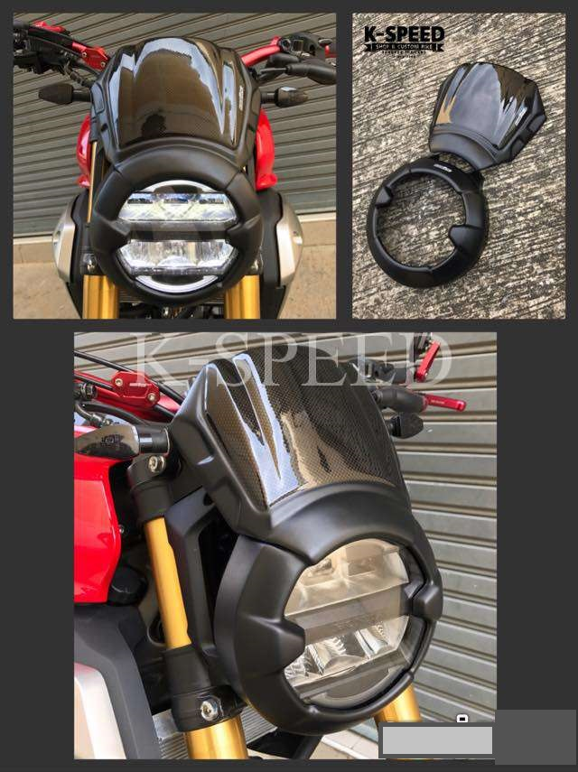 Headlightcover & Windshield CB125r,CB150r